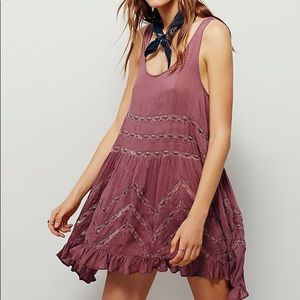 FP voile and lace dress